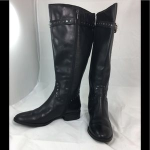 Sam Edelman Black Riding Boots Sz. 10